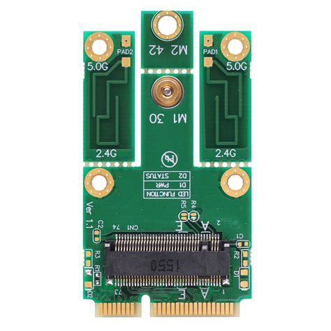 M 2 To Mini Pci E Adapter m2mp3 m 2 to mpcie pcie usb adapter