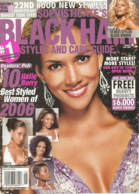 Black Hairstyles Magazines by Hair Books