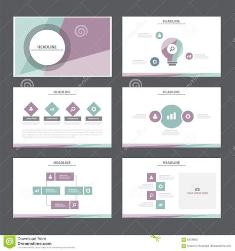 elements of layout in advertising black white presentation template infographic elements