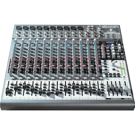 Mixer Behringer Xenyx 2442fx mesa xenyx 2442fx mixer behringer xenyx 2442 fx efeito