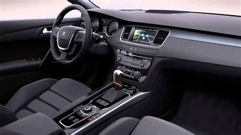 peugeot 508 interior 2012 car interior 2012 peugeot 508 1 6 turbo 165 cv allure