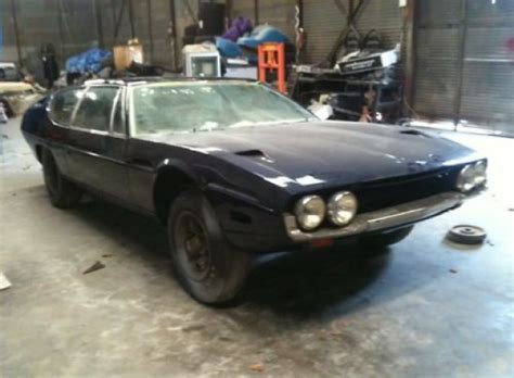 Lamborghini Project Car For Sale 1971 Lamborghini Espada Classic Automobiles