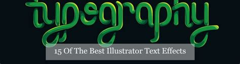 15 Of The Best Illustrator Text Effects Vector Patterns | 15 of the best illustrator text effects vector patterns