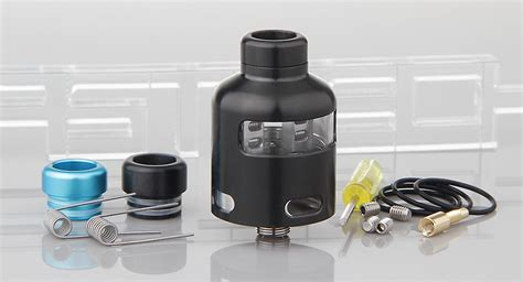 Nalu Rda Authentic By Vaporesso 22 42 authentic vaporesso nalu rda rebuildable atomizer stainless steel glass