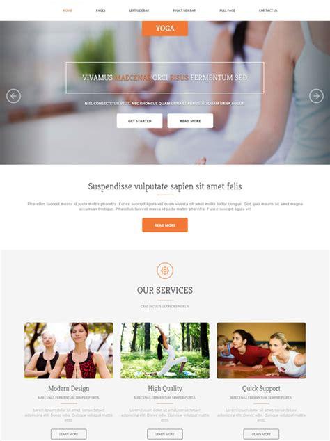 website templates for yoga yoga classes website template yoga sports dreamtemplate