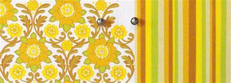 tappezzeria anni 60 decorare la credenza cose di casa