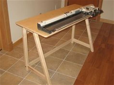 knitting machine table knitting machine tables on knitting machine