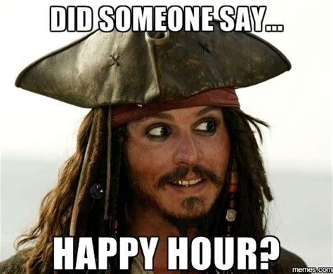 Happy Hour Meme - derrick dubois afterword