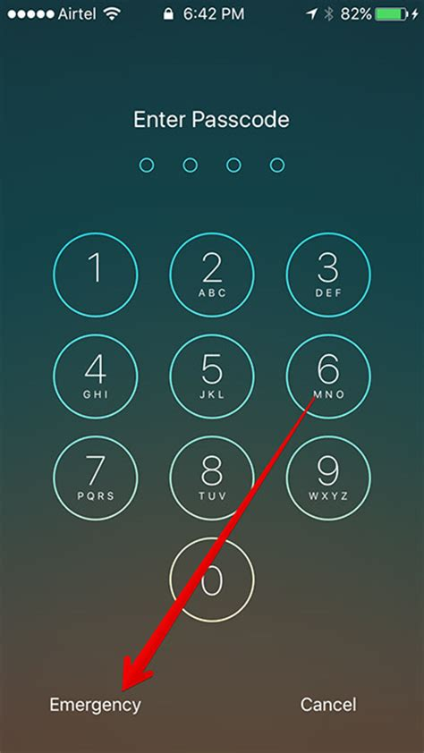 iphone lock screen how to access id from lock screen in ios 10 on iphone