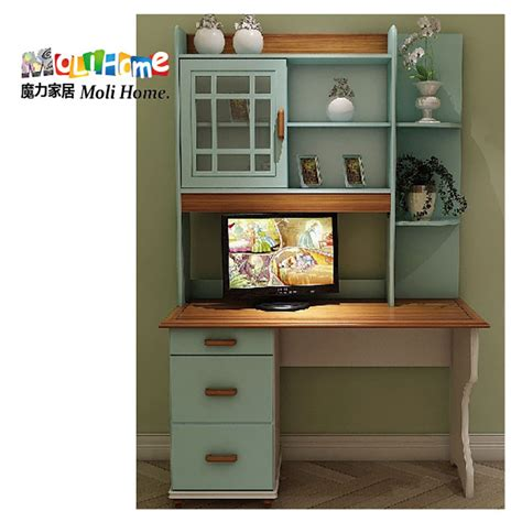 desk and bookshelf combination office furniture bookcase