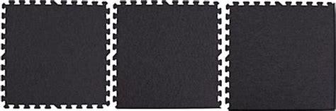 10 X 10 Interlocking Foam Mat And Black - 10 x 10 interlocking black foam mats