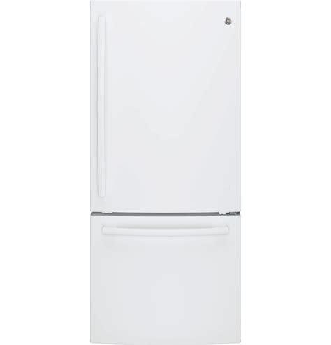 Single Door Refrigerator With Bottom Drawer Freezer by Ge Appliances Gde21egkww 20 9 Cu Ft Single Door Bottom