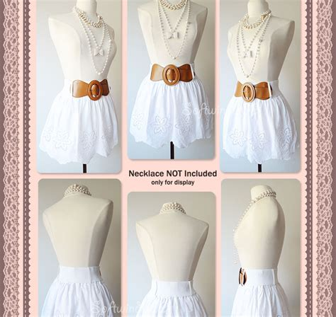 Jh Minie Chole 100 Import new white floral eyelet accent scallop edge 100
