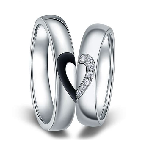 interlocking promise rings set for and