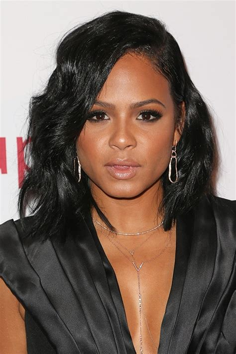 Milian Hairstyles by Milian Wavy Black Bob Hairstyle Style