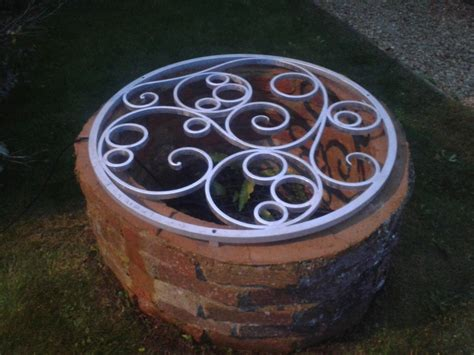 Decorative Well Covers by Well Covers And Overthrows Ironart Of Bath