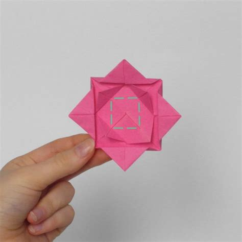Origami Roses Easy - how to make an origami in 8 easy steps from japan