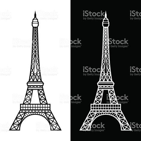 imagenes blanco y negro torre ifel torre eiffel arte vectorial de stock y m 225 s im 225 genes de