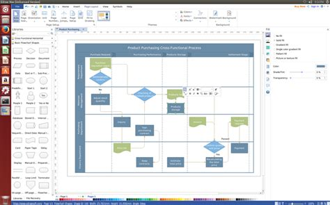flowchart software visio best flowchart visio alternative for linux visio like