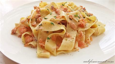 pasta recepies smoked salmon pasta recipe healthy version alifemoment