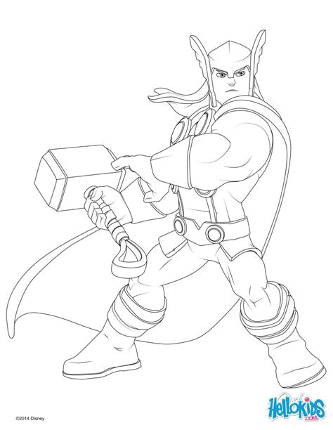 infinity coloring pages disney infinity thor coloring page coloring pages