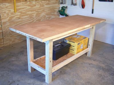 simple work bench woodwork build a simple workbench pdf plans