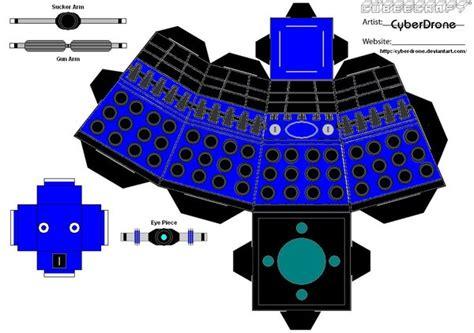 Dalek Papercraft - cubee classic dalek 8 by cyberdrone on deviantart