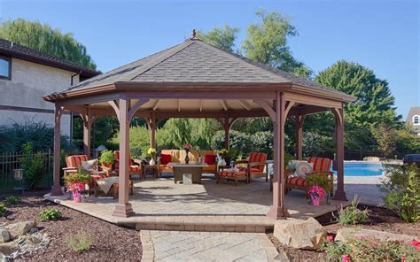 wood gazebo wood gazebos river view outdoor products