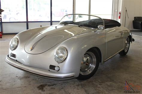 porsche 356 replica 1957 porsche 356 speedster beck replica