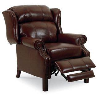 lane leather wingback recliner lane furniture hogan high leg leather recliner in dark brown