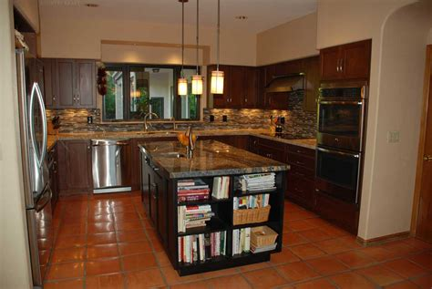 custom stained kitchen cabinets in alexandria va