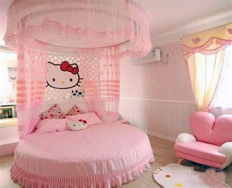 hello kitty bedrooms 50 round beds that will transform your bedroom