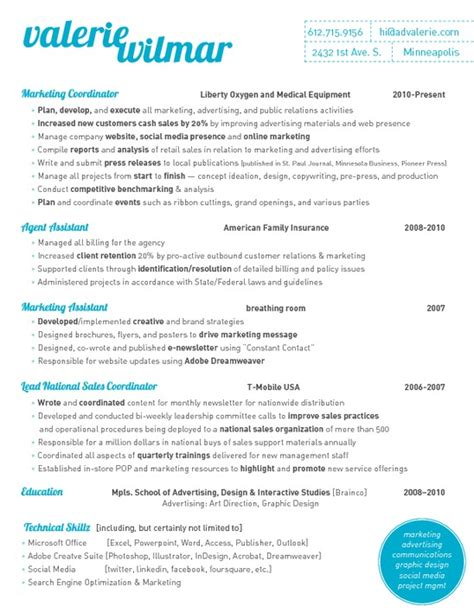 best marketing resume sles resume marketing resume format pdf