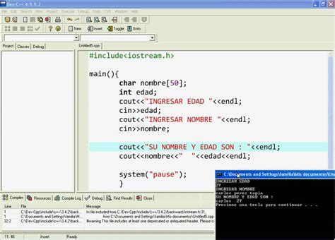 cadenas en c tutorial programacion c clase 3 cadena char 1 2 youtube