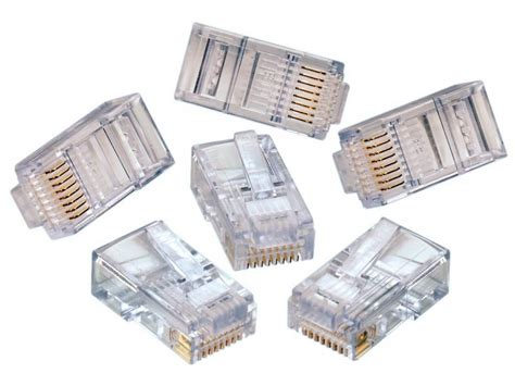 Konektor Rj45 rj45 modular connector stranded 15 connectors silicon pk