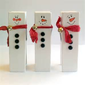 clothespin snowmen in the meadow we can build a snowman