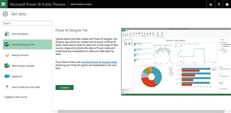 Microsoft Power Bi new power bi features available for preview microsoft