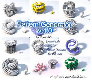 pattern generator scriptspot 17 best maxscripts images on pinterest 3ds max script