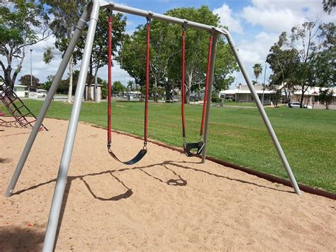 park with swings joe kirwan park townsville kids
