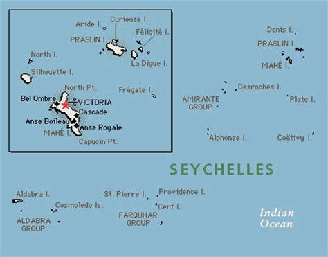 seychelles map indian abdicate world time zone country detail
