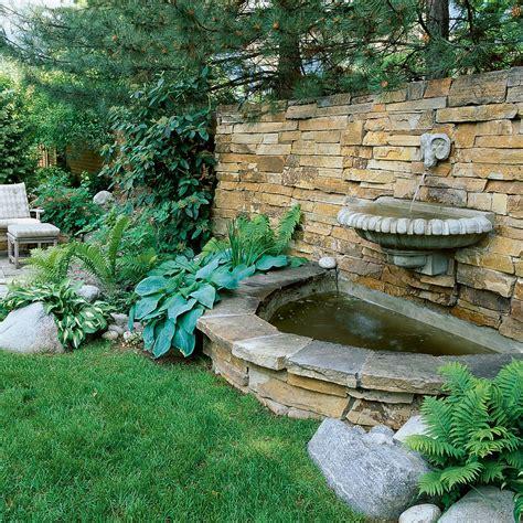 Splashy Wall Fountain Sunset Wall Garden Fountains