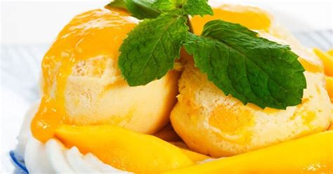 7 resep homemade ice cream nan segar yang tidak ribet kamu resep masakan bunda resep cara membuat manggo sorbet