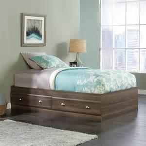 sauder shoal creek mates bed home furniture bedroom