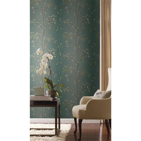 york wallcoverings home design center york wallcovering blue book vertical blossoms wallpaper br6224