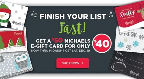 Michaels Craft Store Gift Card - michaels arts and crafts gift card balance