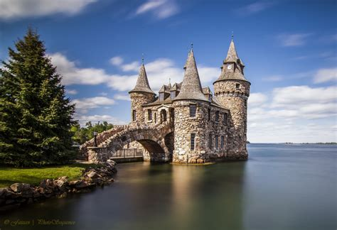 smallest castle boldt castle small castle small castle behind the
