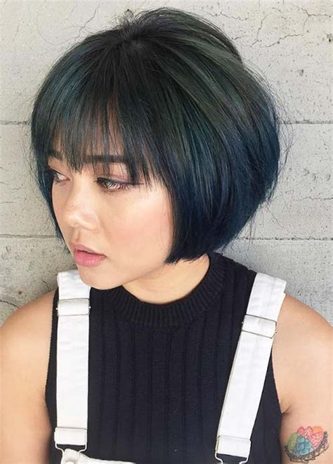 hairstyles short bob with bangs 55 incredible short bob hairstyles haircuts with bangs