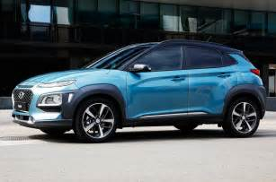 Kona Subaru 2018 Hyundai Kona Look Big Things Expected From