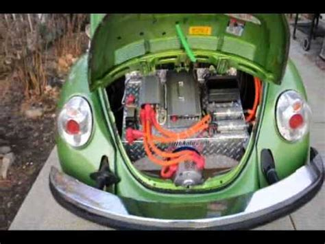 green electric vw bug rebirthauto volt kit