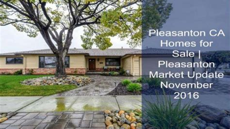 pleasanton ca homes for sale pleasanton market update